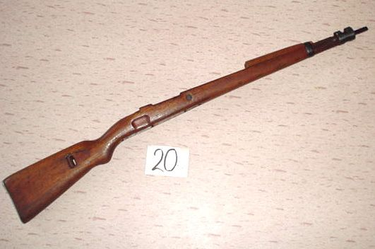 No 20 Mauser Kar 98k Rifle Stock In Solid Wood On Hold